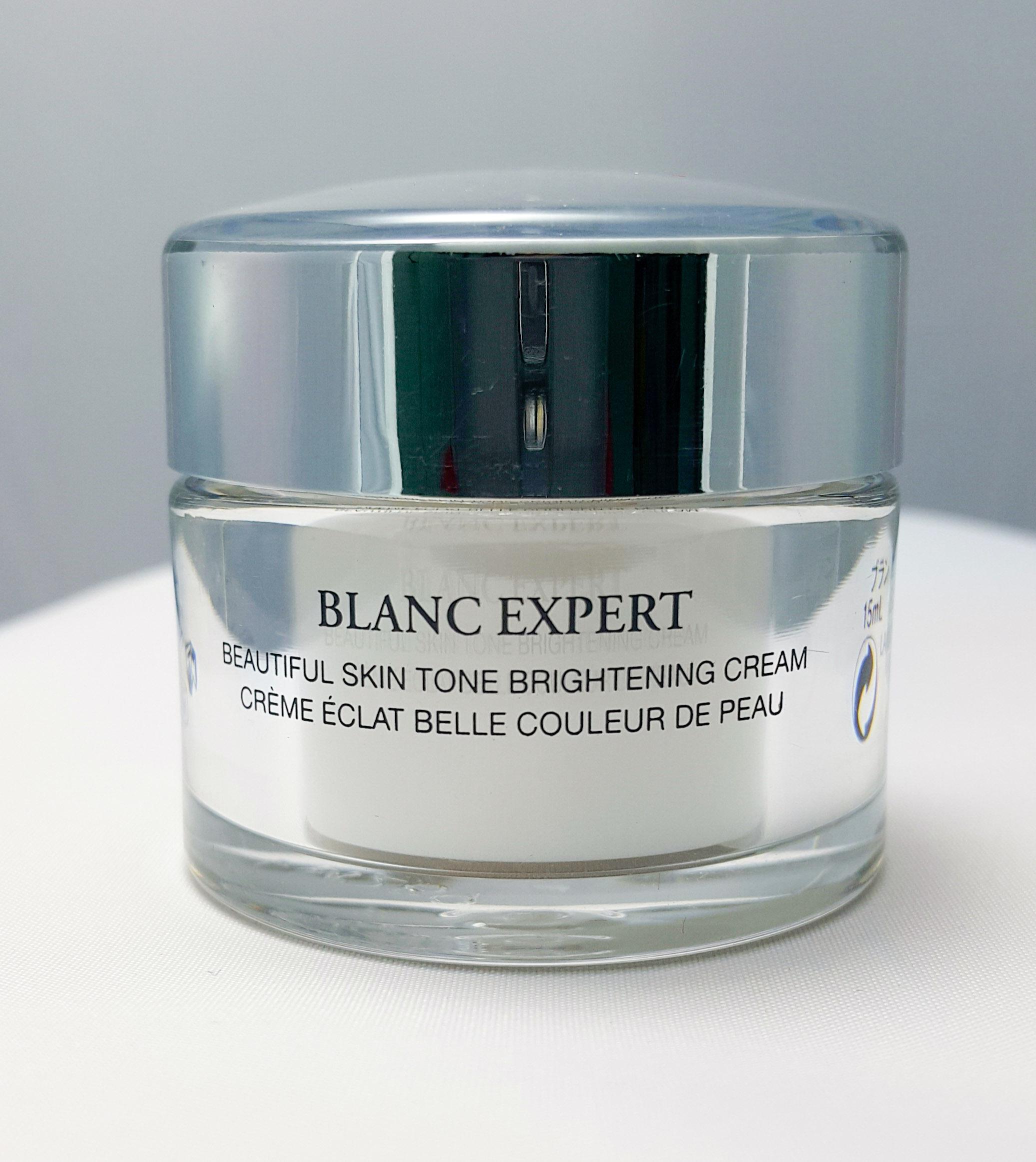 ผลการค้นหารูปภาพสำหรับ lancome blanc expert beautiful skin tone brightening cream 15ml.