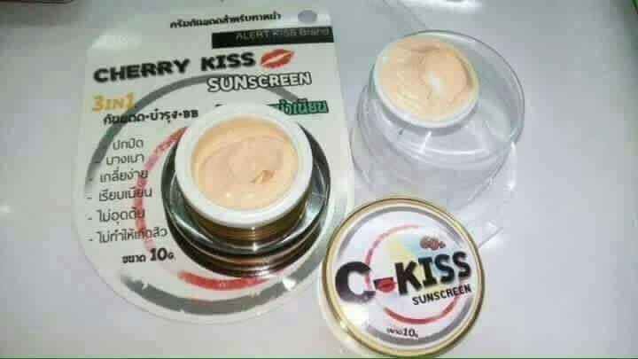 ครีมกันแดด C-KISS SPF 60+++ 10 กรัม