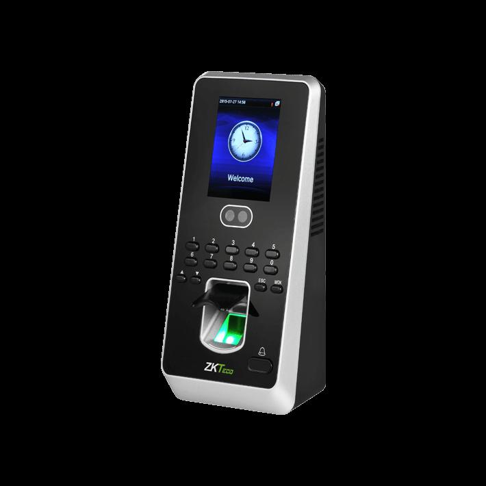 แสกนใบหน้า แสกนลายนิ้วมือ สามารถควบคุมประตูได้ ยี่ห้อ ZKTECO รุ่น ZK-Multibio800