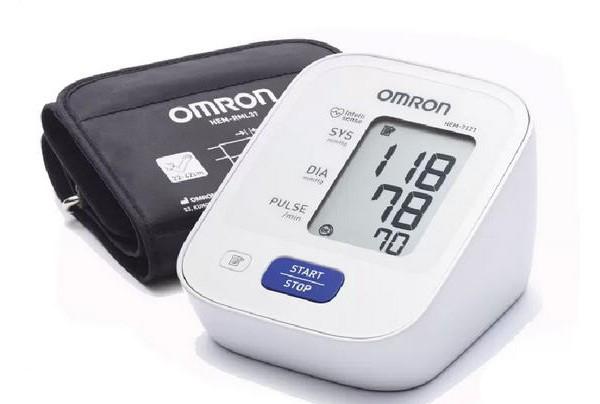 เครื่องวัดความดันโลหิต ยี่ห้อ Omron HEM-7121 รหัส MEL04
