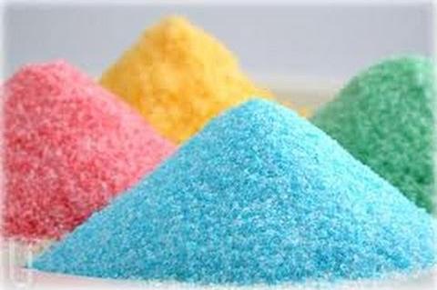 ผงน้ำตาลสายไหม (ผงปั่นสายไหม,สายไหมหลากสี,ขนมสายไหม)