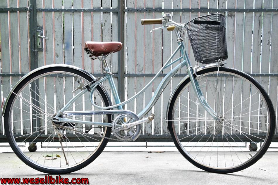 จักรยานแม่บ้าน ล้อ27นิ้ว ล้อAraya บังโคลนสแตนเลส