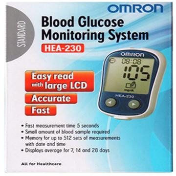 เครื่องเจาะวัดน้ำตาลในเลือด รุ่น Omron HEA-230 รหัส MEI03