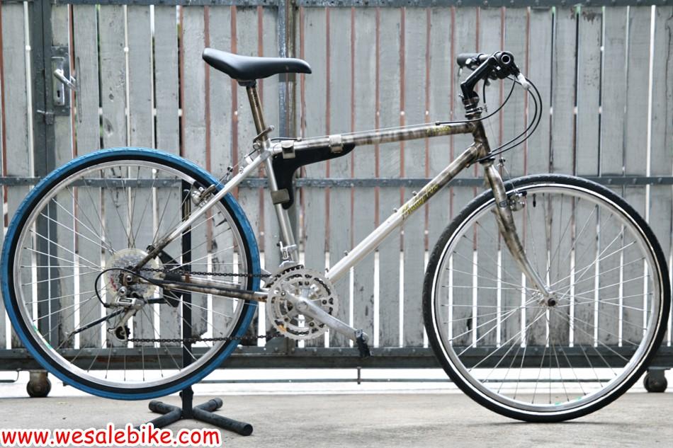 จักรยานโครโมลี่ Araya Muddy Fox ท่อTange ล้อ26นิ้ว ไซส์ S