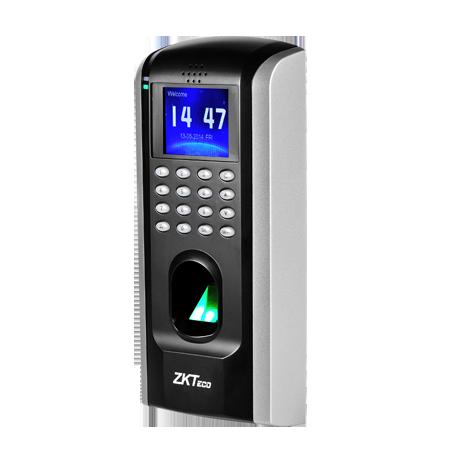 เครื่องแสกนลายนิ้วมือ รองรับการใช้บัตร สามารถควบคุมประตูได้ ยี่ห้อ zkteco รุ่น ZK-SF200