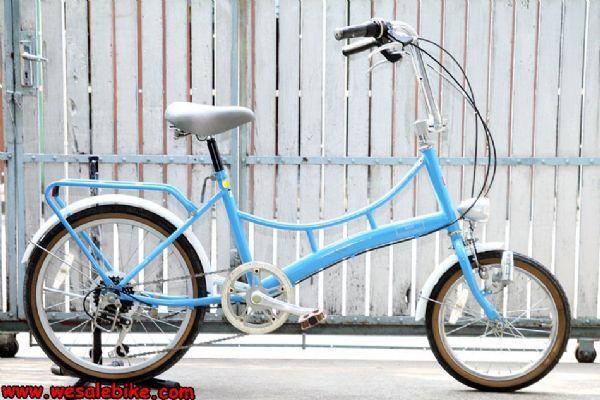 จักรยานมินิ Raychell 6เกียร์ ล้อหน้า16หลัง20นิ้ว