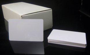 เริ่ม 60 ใบ บัตรพรีปริ๊นท์ 0.76 บัตรพลาสติกเปล่าสีขาว พิมพ์บัตรได้ ใช้กับเครื่องพิมพ์บัตร ระบบริบบอน dye sub ทั่วไป หนาประมาณบัตร ATM