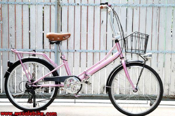 จักรยานพับ ล้อ20นิ้ว 6เกียร์ ดุมหน้าไฟ