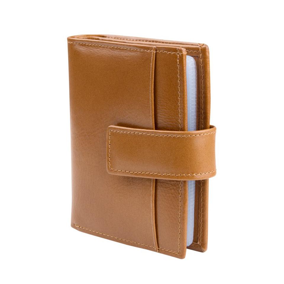 กระเป๋าใส่บัตร หนังแท้ รุ่น Profestional สีเบจ