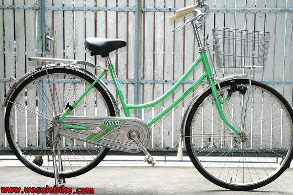 จักรยานแม่บ้าน Maruishi ล้อ26นิ้ว ชิ้นส่วนเป็นstainless steel