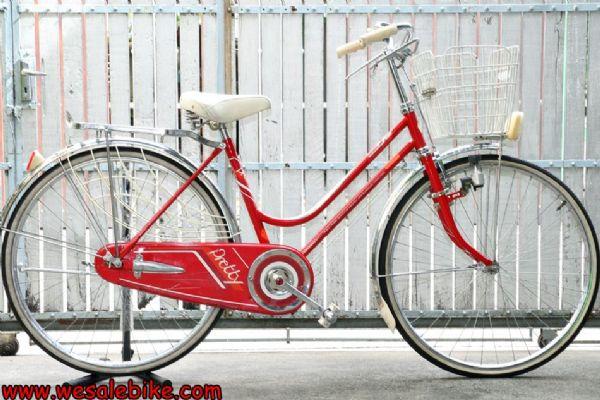 จักรยานแม่บ้าน Benny ล้อ26นิ้ว ชิ้นส่วนเป็นสแตนเลส