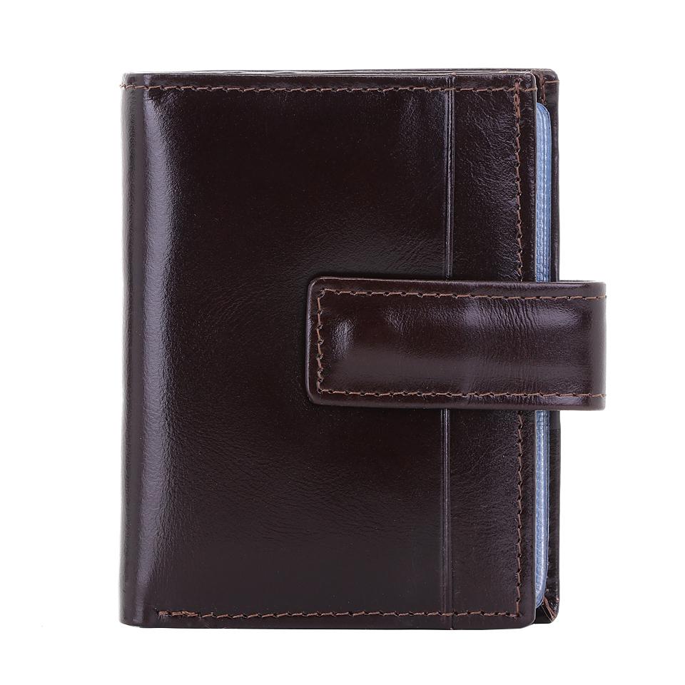 กระเป๋าใส่บัตร หนังแท้ รุ่น Professtional สีน้ำตาลเข้ม