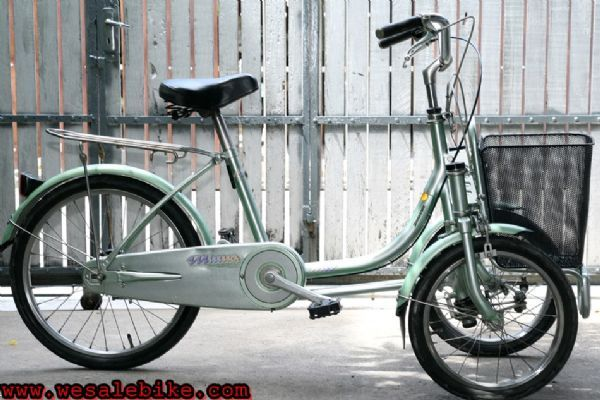 """จักรยานสามล้อ Bridgestone ล้อหน้า16""""หลัง20"""""""