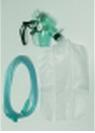 หน้ากากออกซิเจน พร้อมถุงลม เด็ก,ผู้ใหญ่ MEO04