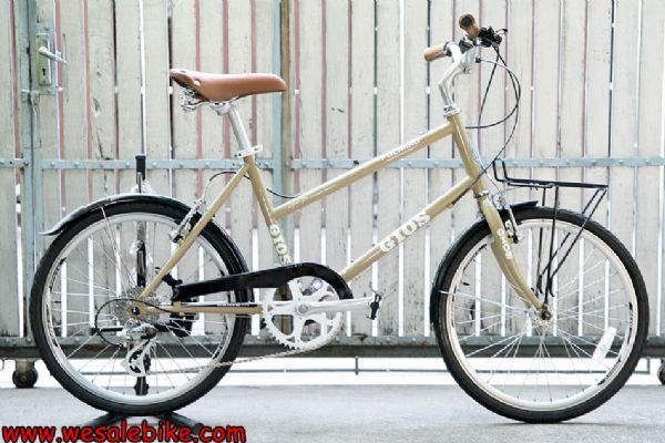 จักรยานมินิทัวร์ริ่ง Gios Pulmino ตัวถังโครโมลี่ 7เกียร์ ล้อ20นิ้ว