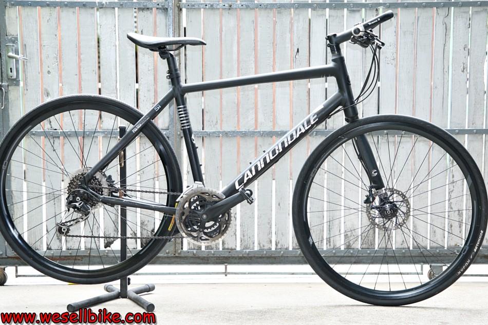 จักรยานทัวร์ริ่ง Cannondale Badboy ดิสก์น้ำมัน ตะเกียบขาเดี่ยว ไซส์ L