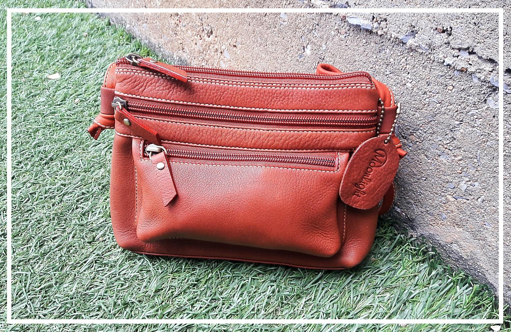 กระเป๋ารุ่น Mino สีแทน (No.008)