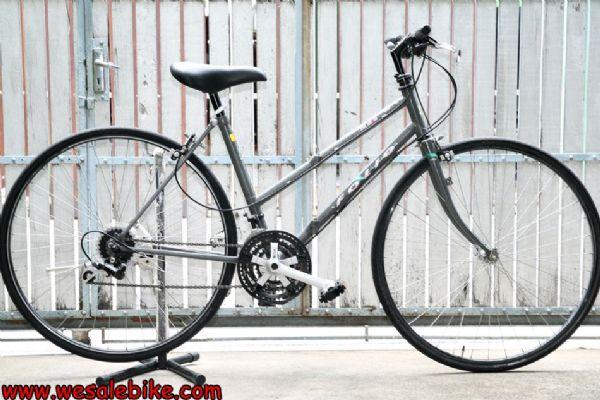 จักรยานพับ Miyata ล้อ700C สีเทาระเบิด