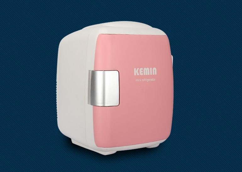 ตู้เย็นเล็ก รุ่น Candy 8 ลิตร (Baby Pink)