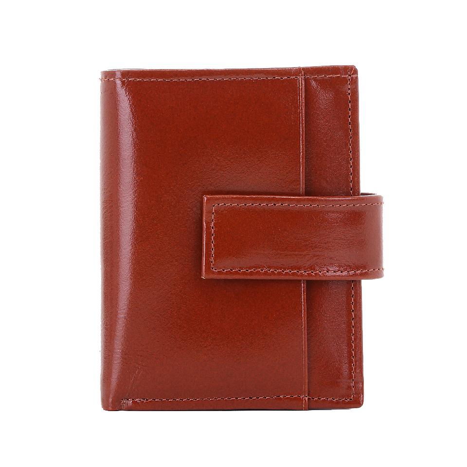 กระเป๋าใส่บัตร หนังแท้ รุ่น Professtional สีแทน (น้ำตาลอ่อน)