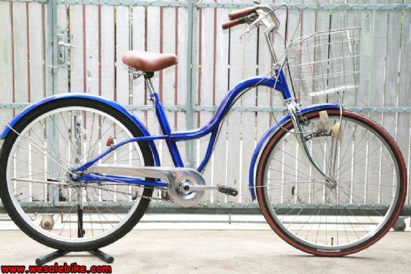 จักรยานแม่บ้าน 3เกียร์ ล้อ26นิ้ว