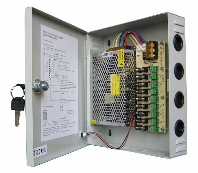POWER SUPPLY 12V 30A BOX (แบบมีกล่อง)