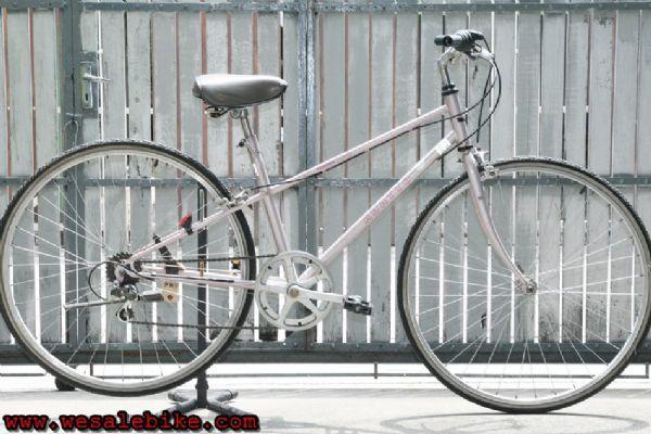 จักรยานทัวร์ริ่ง Panasonic เฟรมและตะเกียบเป็นท่อโครโมลี่ 6เกียร์ ไซส์ S