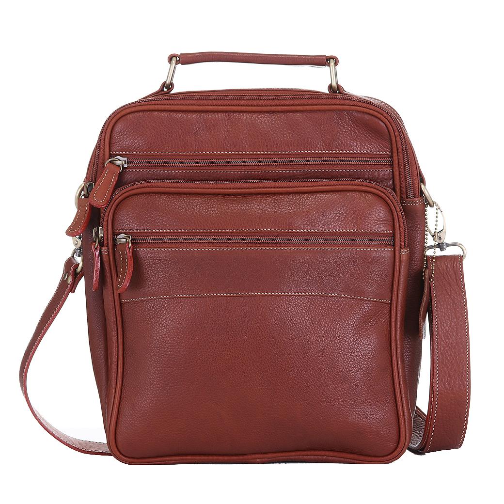 กระเป๋าหนังแท้ ทำจากหนังวัว หิ้วได้ สะพายได้ สำหรับผู้ชาย รุ่น Master สีแทน แบรนด์ Moonlight แท้พร้อมถุงกันฝุ่น ประกัน 1 ปี