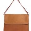 กระเป๋าสะพายรุ่น Square สีแทน (Size L)