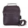กระเป๋าหนังแท้ ทำจากหนังวัว หิ้วได้ สะพายได้ สำหรับผู้ชาย รุ่น Master สีน้ำตาลเข้ม แบรนด์ Moonlight แท้พร้อมถุงกันฝุ่น ประกัน 1 ปี