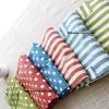 ผ้ากันเปื้อนลายทางและลายจุดสีสดใสสไตล์ญี่ปุ่น มีทั้งหมด 6 แบบ 3 สี