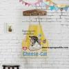 ผ้ากันเปื้อนผู้ใหญ่ cheese cat by Supergoods