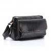 กระเป๋ารุ่น EVA สีดำ หนังวัวฟอกน้ำมัน (No.150X)