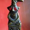 พ่องั้งตาแดงเนื้อโลหะอาถรรพ์หล่อพิมพ์โบราณตำหรับเขมรขนานแท้เมตตาสุดฤทธิ์เจ้าชู้สุดเดช ปลุกเสกโดยหลวงปู่น้อย วัดป่าดอนประดู่(สำนักสงฆ์วังเทวา) อ.เจริญศิลป์ จ.สกลนครคร สำเนา
