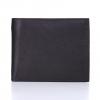 กระเป๋าสตางค์หนังแท้ สำหรับผู้ชาย รุ่น Calvin สีดำ หนังเต็มเกรน (full grain) ทนทานระดับ 10