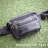 กระเป๋าคาดเอว รุ่น Alpha สีดำ (No.110)