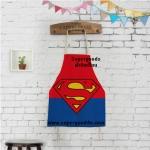 ผ้ากันเปื้อนเด็ก ซูปเปอร์แมน by Supergoods