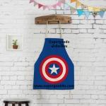 ผ้ากันเปื้อนผู้ใหญ่ กัปตันอเมริกา by Supergoods