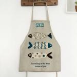 ผ้ากันเปื้อนเด็ก ปลาสามตัว by Supergoods