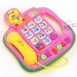 โทรศัพท์ดนตรี สีชมพู (Novel Telephone)