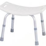 เก้าอี้อาบน้ำ ไม่มีพนักพิง ปรับสูงต่ำได้ MEH04