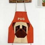 ผ้ากันเปื้อนเด็ก หมาปั๊ก by Supergoods