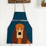 ผ้ากันเปื้อนเด็ก หมาบาสเซ็ต ฮาวด์ (Basset Hound)
