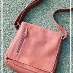 กระเป๋าสะพายรุ่น Jupiter สีแทน (No.090)