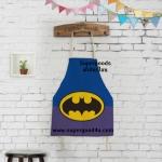 ผ้ากันเปื้อนเด็ก แบทแมน by Supergoods