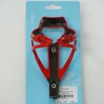 ขากระติ๊กน้ำ สีแดง-ดำ TACX DEVA BOTTLE CAGE BLACKRED T6154.06