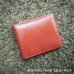 กระเป๋าสตางค์หนังวัวแท้ สำหรับผู้ชาย รุ่น Boss สีแทน ทนทาน เรียบเท่ ของแท้ มีกล่อง ถูกกว่าในช็อป