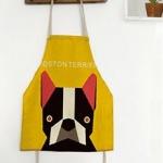 ผ้ากันเปื้อนเด็ก หมาบอสตัน เทอร์เรียร์ (Boston Terrier)
