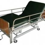 เตียงผู้ป่วย 3 ไกร์ มือหมุน