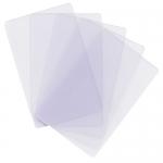 100 ใบ บัตรพลาสติกโปร่งใส บัตรพรีปริ๊นท์ พิมพ์เองได้ ราคาถูก